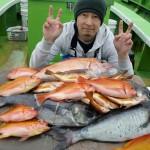 メダイでオキアミ・万能餌の威力?!(2015/05/09)