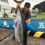 奇跡のキハダはスレ掛かり!!?サメ避けリング成功例後編(2016/10/25)