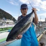 キハダ用サメ避けリングKEEPOUTの実力やいかに?!(2016/10/31)