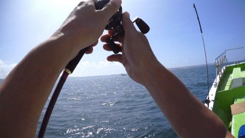 淡水リールを海水で使用