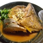 イナダの「タタキ(炙り)」と「味噌煮」