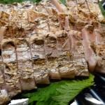 タチウオ捌きは超簡単、炙りのお刺身、塩焼き、ムニエル、骨せんべい、フライ、澄まし汁、ラーメン!?