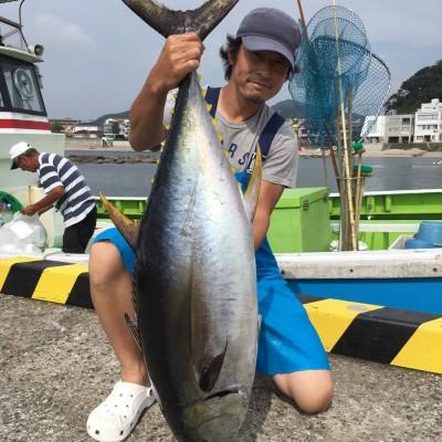 相模湾カツマグ・コマセ近況報告とエビング挑戦!!(2017/08/22)